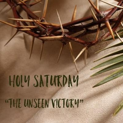 Cover art for Holy Black Saturday