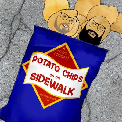 Potato Chips On The Sidewalk