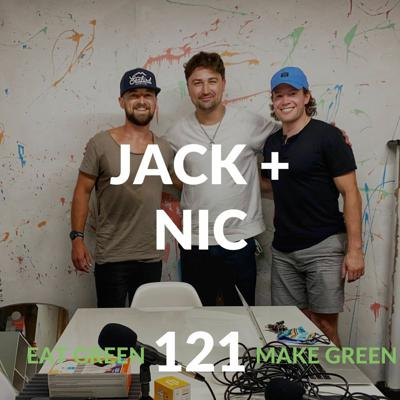 Cover art for Episode 121: Jack + Nic & The Sport of Business