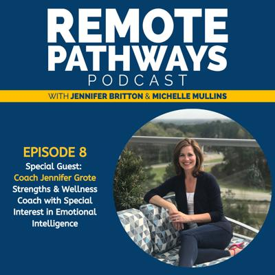 Cover art for EP008: Jennifer Grote, Strengths & Wellness Coach