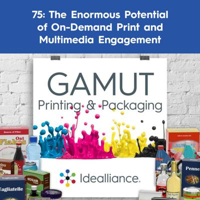 Cover art for 75: The Enormous Potential of On-Demand Print and Multimedia Engagement