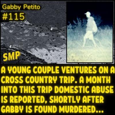 Cover art for Gabby Petito Case - Solvable Mysteries Podcast #115