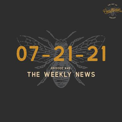 Cover art for Episode 45 - The Weekly News 07-21-2021