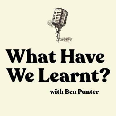 Incidental Learning from Interesting People A Podcast hosted by Ben Punter, Follow on Twitter & Instagram @benpunter.