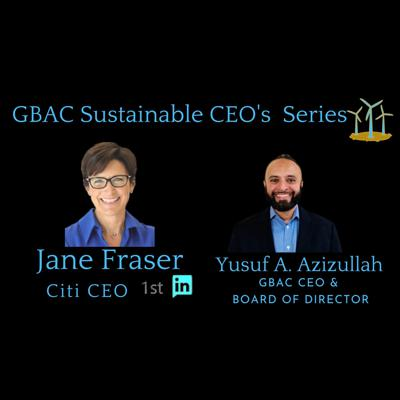 Cover art for Jane Fraser Citi CEO, my Network GBAC Sustainable CEO Series