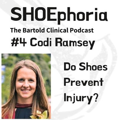 Cover art for Episode 4 - Dr Codi Ramsey - Do Shoes Prevent Injury?