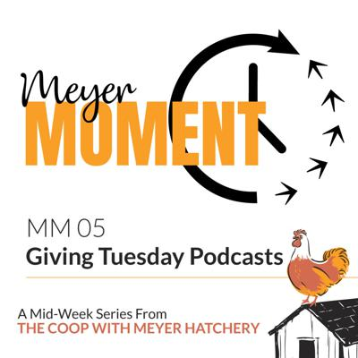 Cover art for Meyer Moment: Giving Tuesday Podcasts