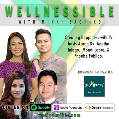 Cover art for Creating happiness with TV hosts Aaron Dy, Anatha Iniego,  Mondi Lopez, & Phoebe Publico