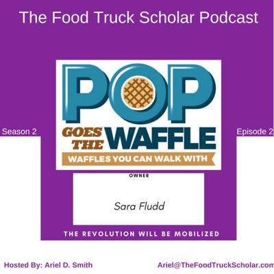 Cover art for Sara Fludd: Pop Goes the Waffle