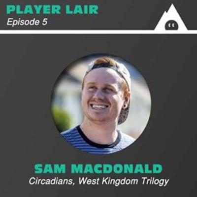 Cover art for Episode 5: Sam Macdonald: Focusing on Player Interaction