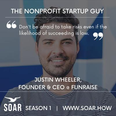 Cover art for Founder Stories: Nonprofit Startups vs For-Profit Startups with Justin Wheeler