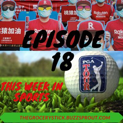 Cover art for Episode 18 - This Week in Sports (Cardboard Cutouts)