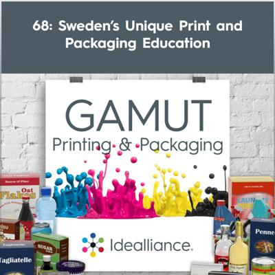 Cover art for 68: Sweden's Unique Print and Packaging Education