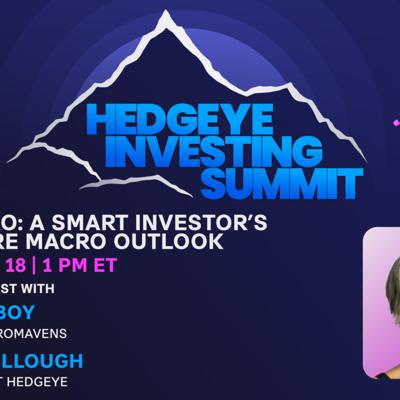 Cover art for Steph Pomboy   Pro-to-Pro: A Smart Investor's Big Picture Macro Outlook (Hedgeye Investing Summit)