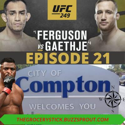 Cover art for Episode 21 - UFC 249 - Our Apologies