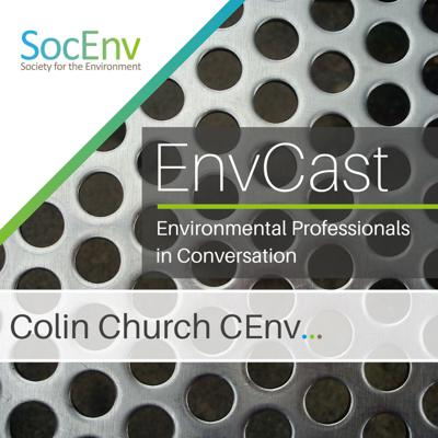 Cover art for In Conversation with Colin Church CEnv
