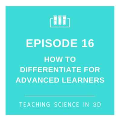 Cover art for S2E16 How To Differentiate For Gifted Learners
