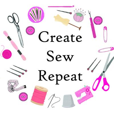 Create Sew Repeat is a podcast for beginner and intermediate sewers. In this podcast we will go over techniques and tips on how to improve your sewing skills
