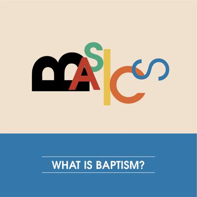 Cover art for What is Baptism?