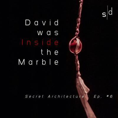 Cover art for David was Inside the Marble