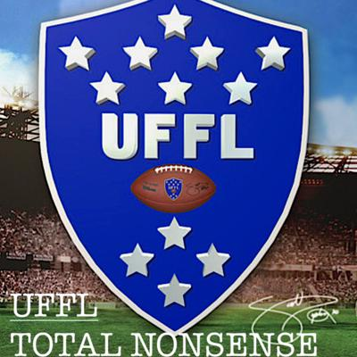 The UFFL is a Fantasy Football League comprised of 12 teams. It's members all came from a triple-wide trailer in the heart of Bristol, CT - where as young Sports Television (think 4 letters) Production Assistants, they battled for pride and very little money in the greatest fantasy football dynasty league.....EVER.  On the
