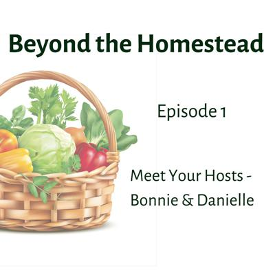 Cover art for Meet Your Hosts - Bonnie & Danielle | Beyond the Homestead Podcast | Ep. 1