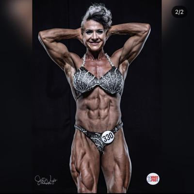 Cover art for Surviving Cancer. Powerlifting record breaker and Ifbb pro: Lee Keyrouz