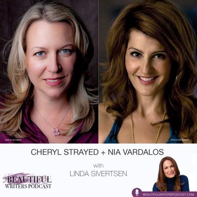 Cover art for Cheryl Strayed & Nia Vardalos: Answering the Biggest Questions that Stump Writers