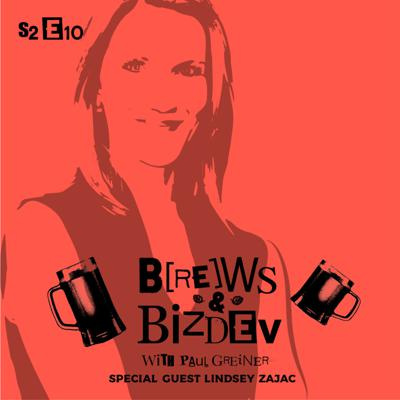 Cover art for Brews & BizDev - Going Where Your Customers Are and Growing Your Small Business with Lindsey Zajac
