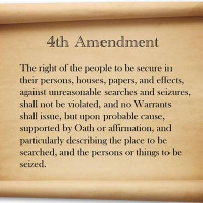 Cover art for #099: The 4th Amendment in peril?