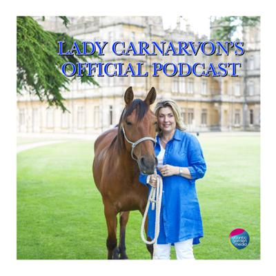 """My husband, the 8th Earl of Carnarvon, and I have the enormous privilege and pleasure of living in, and taking care of, my husband's family home, Highclere Castle, which is better known to many people as the setting for the popular television programme """"Downton Abbey"""". Thanks to this series, our home has, over the last few years, become one of the most well-known and iconic houses in the world. My Podcast is my way of trying to share the stories and heritage of this wonderful building and estate, and all the people and animals that live and work here, so that you can get to know and love it as I do."""