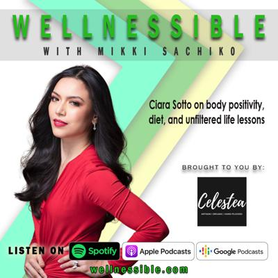 Cover art for Ciara Sotto on body positivity, diet, and unfiltered life lessons