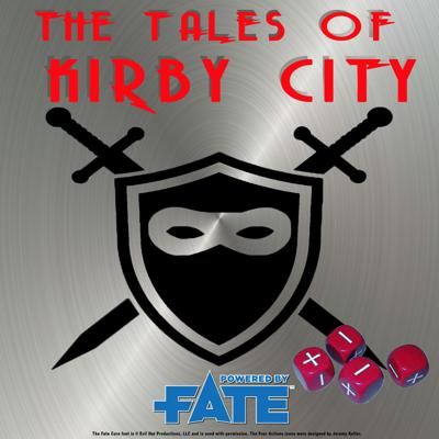 A Real Play (RPG) Role Playing Game podcast powered by FATE. A rotating group of friends play an adventure narrative as original super people, who fight to keep their capes clean as they battle evil in a strange comic book inspired world with fiends, friends, monsters, and mystery! Great for Newbies to RPG games, or anyone who wants more superhero fun in their ears. KA-POW!