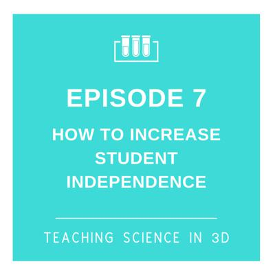 Cover art for S2E7 How To Increase Student Independence
