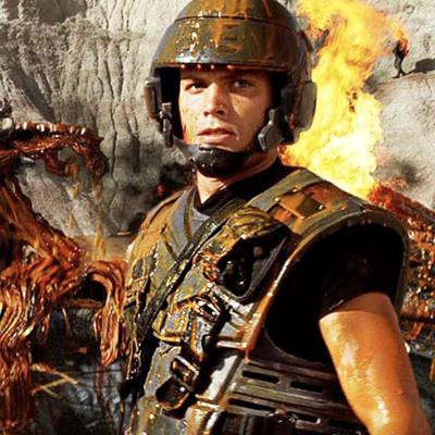Cover art for Starship Troopers