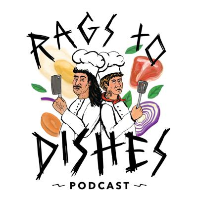 Traumatized by the service industry, two former co workers (Max Messier Richter & Dan Cotter) reminisce over the war stories and horrors of kitchens they've worked in. From drug ridden dishwashers to mentally ill line cooks and everyone and thing in between Rags To Dishes dives deep into the shadows of the culinary/service industry