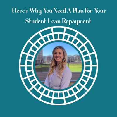 Cover art for Here's Why You Need A Plan for Your Student Loan Repayment featuring Meagan Landress, CSLP