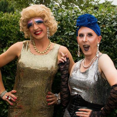 Sally and Betsy: Life's a drag!