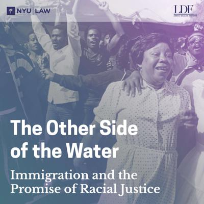 The Other Side of the Water: Immigration and the Promise of Racial Justice is a six-episode series discussing the intersection of immigration and racial justice. The series centers the 1985 US Supreme Court case Jean v. Nelson, a case about the racial discrimination experienced by Haitian asylum seekers in the 1980s.  Episodes feature acclaimed authors, attorneys, activists, and academics who discuss the relevant context in Haiti, the history of anti-Black racism in immigration policy, and the social movements that continue to strive for immigrant and racial justice today.