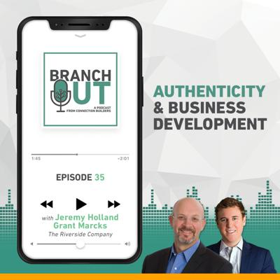 Cover art for Authenticity and Business Development - Jeremy Holland & Grant Marcks