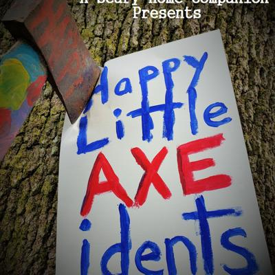 Cover art for Happy Little Axecidents