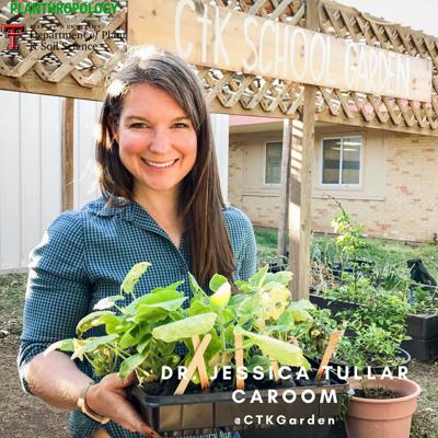 Cover art for 11. School Gardens, Public Health, and So Many Tomatoes w/  Dr. Jessica Tullar Caroom