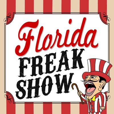 Florida Man... need we say more? There's no shortage of weird news stories in Florida. The Florida Freakshow podcast chronicles all that is bizarre, odd, strange, outlandish, peculiar, kooky, quirky, weird, and downright freaky in Florida.  Florida's headlines are filled with (unintentional) comedy.  Veteran journalists Cory and Kirsten O'Donnell share their humorous takes on recent headlines from around our great state. This freak show is a celebration of the Sunshine State: From Jacksonville down the east coast to Daytona, West Palm Beach, and Miami; Pensacola, Panama City, Tallahassee, and the panhandle; and Tampa-St. Pete, Sarasota, Fort Myers, Naples, and even Key West.  Celebrate our Great State of Florida with us!