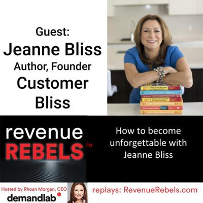Cover art for How to Become Unforgettable with CX Leader Jeanne Bliss