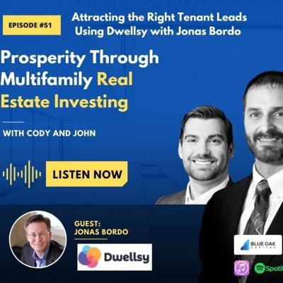 Cover art for Attracting the Right Tenant Leads Using Dwellsy with Jonas Bordo