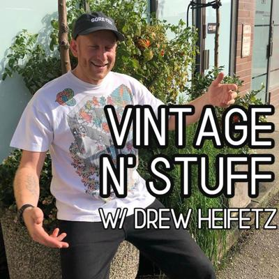 Welcome to Vintage N' Stuff podcast. I'm so glad you're here! I have been selling vintage clothing for over 15 years and am currently the owner of @fasinfrank and @frankiecollectve. Here you will find an audio experience to delight all the senses and get you fiending to hit the thrift. I will be covering my life in the vintage business, talk to other dealers and personalities in the game, document my father's life in the business and everything in between. I am probably doing this unedited so hold on to your hats. Let's do this. Hit me up on instagram @drewheifetz