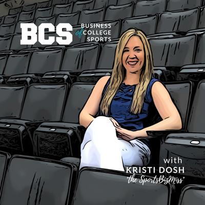 Welcome to The Business of College Sports podcast! Host Kristi Dosh is a sports business contributor for Forbes and formerly ESPN's sports business reporter. A recovering attorney, she is the author of