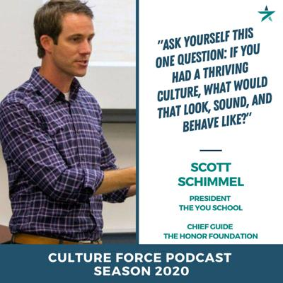 Cover art for Having the courage to ask yourself the hard questions with Scott Schimmel (YouSchool, Speaker, Author)