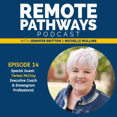 Cover art for EP014: Enneagram in Remote Work with Guest Teresa McCloy