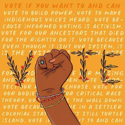 Cover art for Vote (If You Want To & Can)